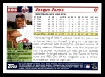 2005 Topps #585  Jacque Jones  Back Thumbnail