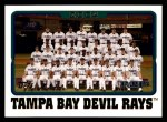 2005 Topps #665   Tampa Bay Devil Rays Team Front Thumbnail