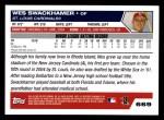 2005 Topps #669  Wes Swackhamer  Back Thumbnail