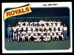 1980 Topps #66   -  Jim Frey Royals Team and Checklist  Front Thumbnail