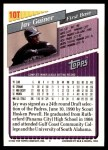 1993 Topps Traded #10 T Jay Gainer  Back Thumbnail