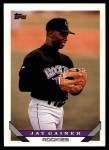 1993 Topps Traded #10 T Jay Gainer  Front Thumbnail