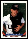 1993 Topps Traded #12 T  -  A.J. Hinch Team USA Front Thumbnail
