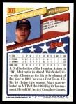 1993 Topps Traded #30 T  -  Matt Beaumont Team USA Back Thumbnail