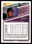 1993 Topps Traded #33 T Vinny Castilla  Back Thumbnail
