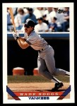 1993 Topps Traded #47 T Wade Boggs  Front Thumbnail