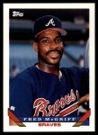 1993 Topps Traded #88 T Fred McGriff  Front Thumbnail