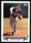 1993 Topps #23  Todd Stottlemyre  Front Thumbnail