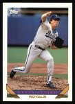 1993 Topps #76  Kevin Appier  Front Thumbnail