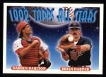 1993 Topps #408   -  Darrin Daulton / Brian Harper All-Star Front Thumbnail