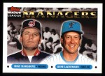 1993 Topps #505   -  Mike Hargrove / Rene Lachemann Managers Front Thumbnail