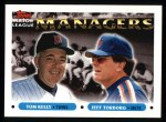 1993 Topps #509   -  Tom Kelly / Jeff Torborg Managers Front Thumbnail