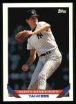 1993 Topps #525  Scott Sanderson  Front Thumbnail