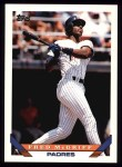 1993 Topps #30  Fred McGriff  Front Thumbnail