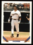 1993 Topps #140  Gary Sheffield  Front Thumbnail