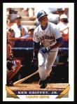 1993 Topps #179  Ken Griffey Jr.  Front Thumbnail