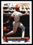 1993 Topps #371  Mariano Duncan  Front Thumbnail