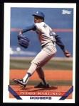 1993 Topps #557  Pedro Martinez  Front Thumbnail