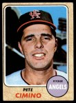 1968 Topps #143  Pete Cimino  Front Thumbnail