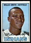 1967 Topps #397  Willie Smith  Front Thumbnail