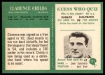 1966 Philadelphia #121  Clarence Childs  Back Thumbnail