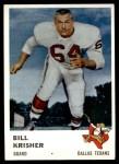 1961 Fleer #205  Bill Krisher  Front Thumbnail