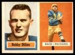 1957 Topps #9  Bobby Dillon  Front Thumbnail