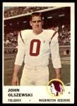 1961 Fleer #110  John Olszewski  Front Thumbnail