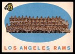 1959 Topps #76   Rams Team Checklist Front Thumbnail