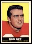 1961 Topps #181  Bob Dee  Front Thumbnail