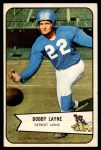 1954 Bowman #53  Bobby Layne  Front Thumbnail