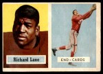 1957 Topps #85  Dick Lane  Front Thumbnail