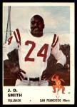 1961 Fleer #60  J.D. Smith  Front Thumbnail