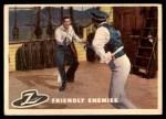 1958 Topps Zorro #4   Friendly Enemies Front Thumbnail
