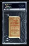 1909 T206  Jake Thielman  Back Thumbnail