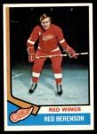 1974 Topps #19  Red Berenson  Front Thumbnail