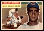 1956 Topps #308  Chuck Harmon  Front Thumbnail