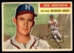 1956 Topps #320  Joe Adcock  Front Thumbnail