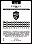 2017 Hoops #98  Derrick Rose  Back Thumbnail
