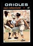 1971 Topps #393  Merv Rettenmund  Front Thumbnail