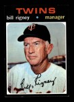 1971 Topps #532  Bill Rigney  Front Thumbnail