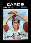 1971 Topps #531  Mike Torrez  Front Thumbnail