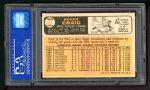 1966 Topps #543  Roger Craig  Back Thumbnail