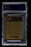 1951 Topps Ringside #2  Henry Armstrong  Back Thumbnail