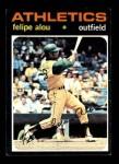 1971 Topps #495  Felipe Alou  Front Thumbnail