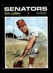 1971 Topps #566  Tim Cullen  Front Thumbnail