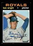 1971 Topps #504  Ken Wright  Front Thumbnail