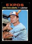 1971 Topps #452  John Boccabella  Front Thumbnail