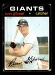 1971 Topps #738  Russ Gibson  Front Thumbnail