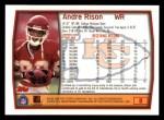 1999 Topps #8  Andre Rison  Back Thumbnail